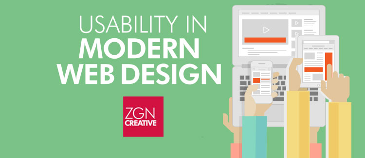 ZGN Creative Usability in modern web design